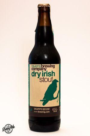 Ravens Brewing Dry Irish Stout Bottle