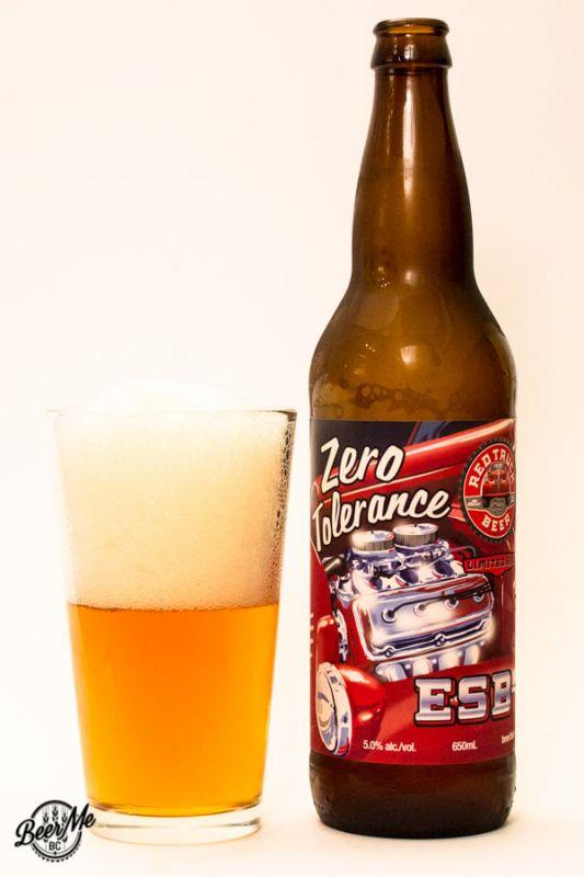 Red Truck Beer Zero Tolerance ESB