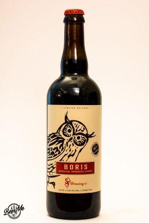 Strange Fellows Boris Imperial Stout Bottle
