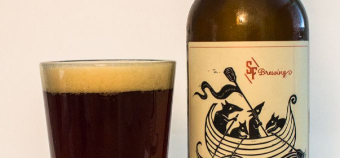 Strange Fellows Brewing – Greybeard Barrel Aged Stock Old Ale