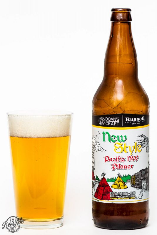 Doan's & Russel Brewing New style Pacific NW Pilsner Review