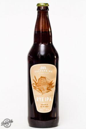 Saltspring Island Ales - Rye IPA Review