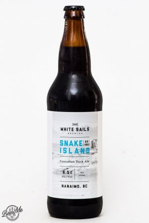 White Sails Brewing - Snake Island Cascadian Dark Ale Review