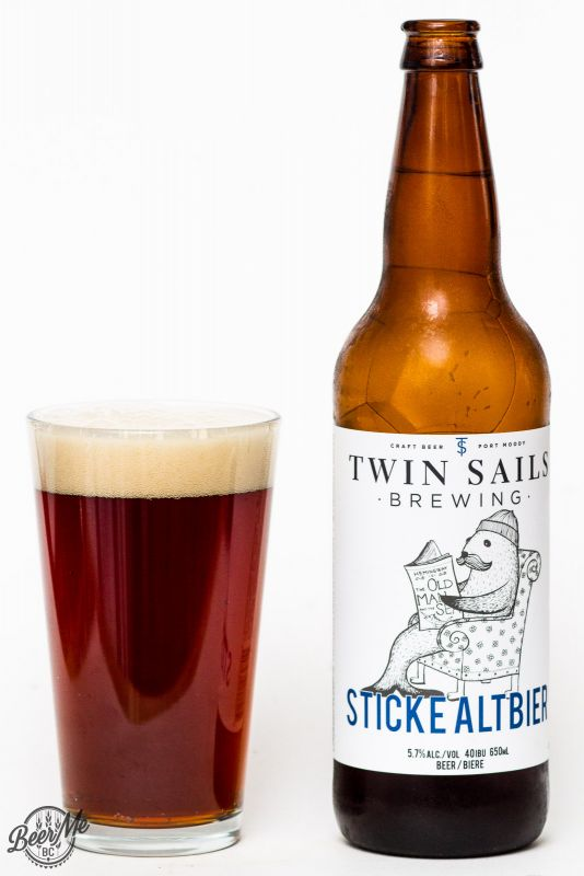 Twin Sails Brewing Sticke Altbier Review
