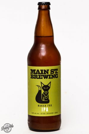 Main St. Brewing Naked Fox IPA Review