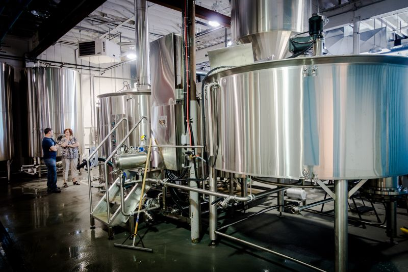 Parkside Brewery Brewhouse