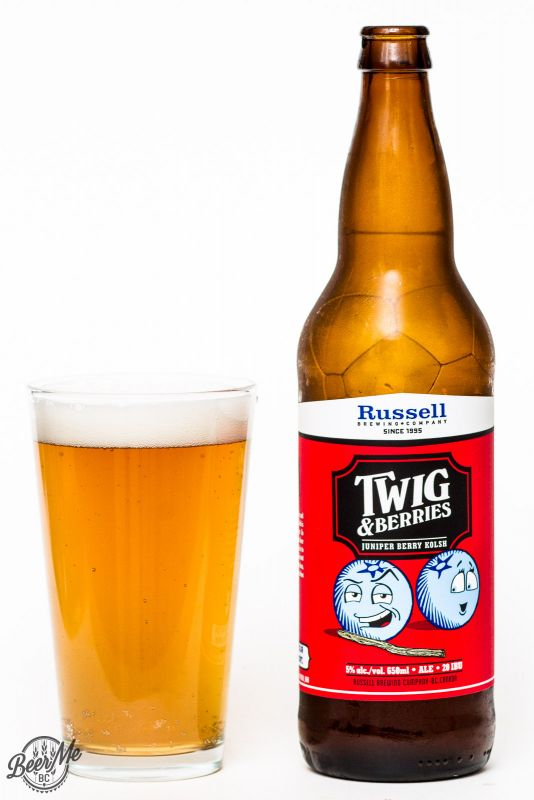 Russell Brewing Twig & Berries Sour Ale Review