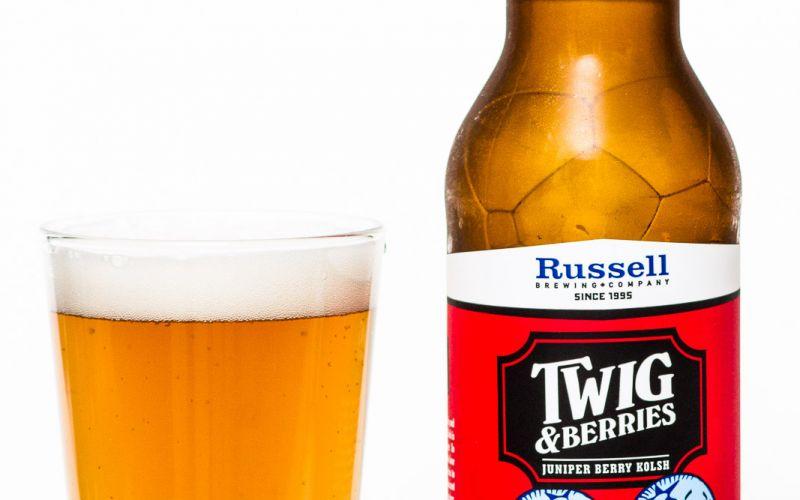Russell Brewing Co. – Twig & Berries Juniper Berry Kolsch