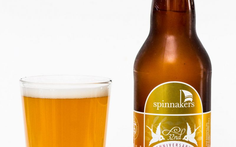 Spinnakers Brewery – 32nd Anniversary Tequila Barrel Aged Sour Quince Saison