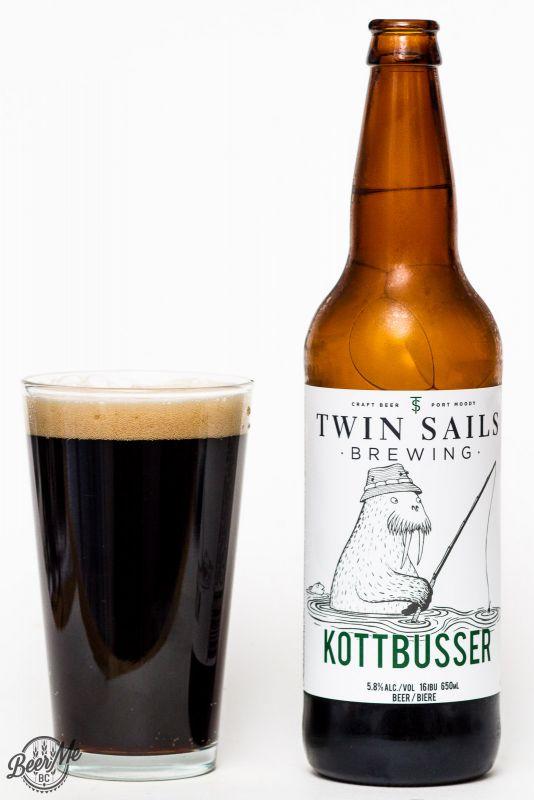 Twin Sails Brewing Kottbusser Brown Ale Review