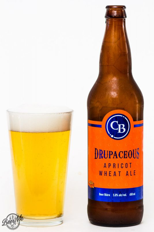 Cannery Brewing Drupaceous Apricot Wheat Ale Review