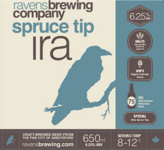 Ravens Brewing Spruce Tip IRA