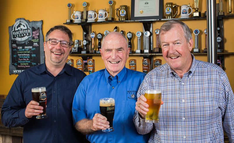 Vancouver Island Brewery Sold To Muskoka Owner and Tim Barnes Takes President's Chair