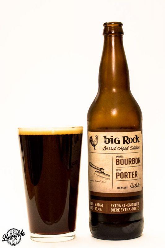 Big Rock Brewing Barrel Aged Porter
