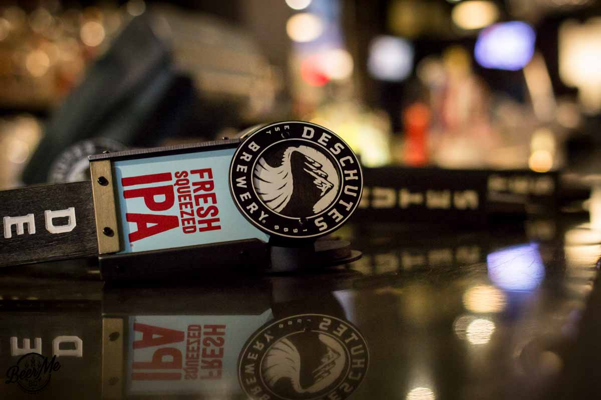Deschutes University Vancouver 2016 Deschutes Taps