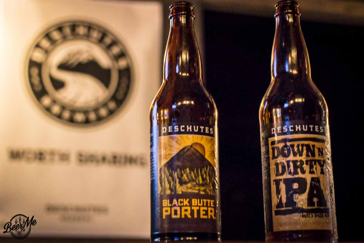 Deschutes University Vancouver 2016 Bomber Bottles