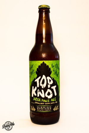 Mission Springs Top Knot IPA Bottle