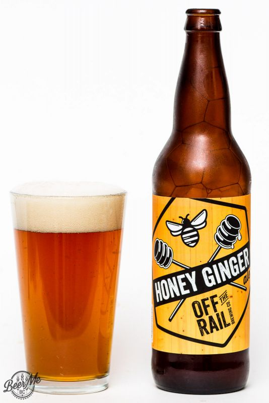 Off The Rail Brewing Honey Ginger Ale Review
