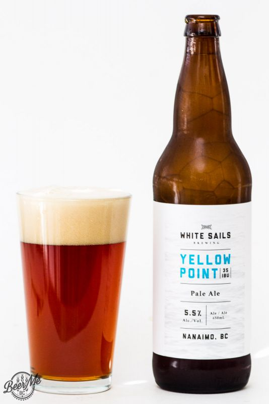 White Sails Brewing Yellow Point Pale Ale Review