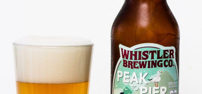 Whistler Brewing Co. – Peak To Pier Summer Wit