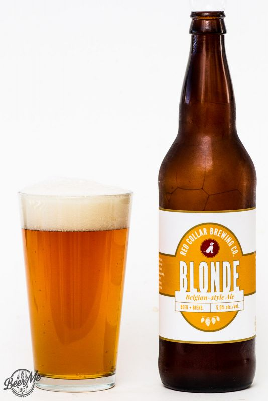 Red Collar Brewing - Belgian Blonde Ale Review