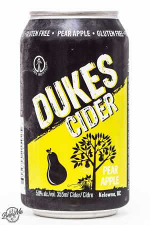 Tree Brewing - Dukes Pear Apple Cider Review