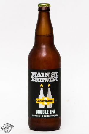Main St Brewing 2nd Anniversary Double IPA Review