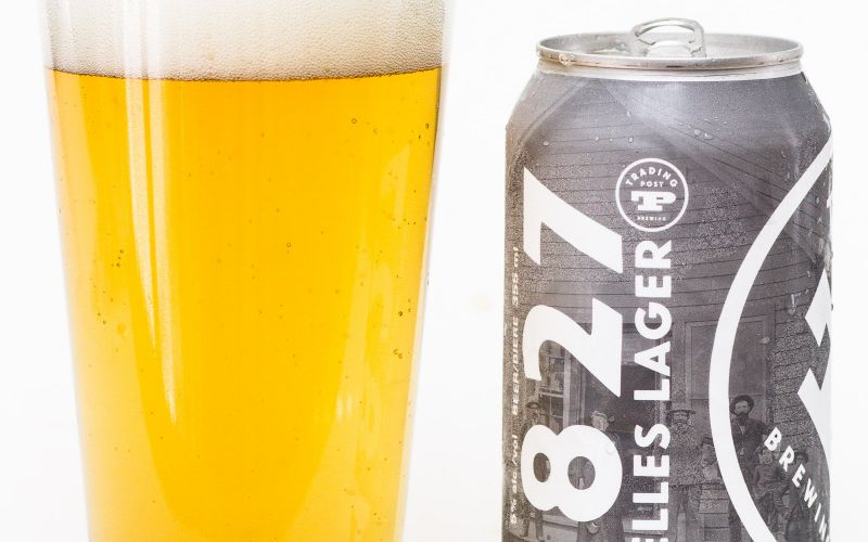 Trading Post Brewery – 1827 Helles Lager