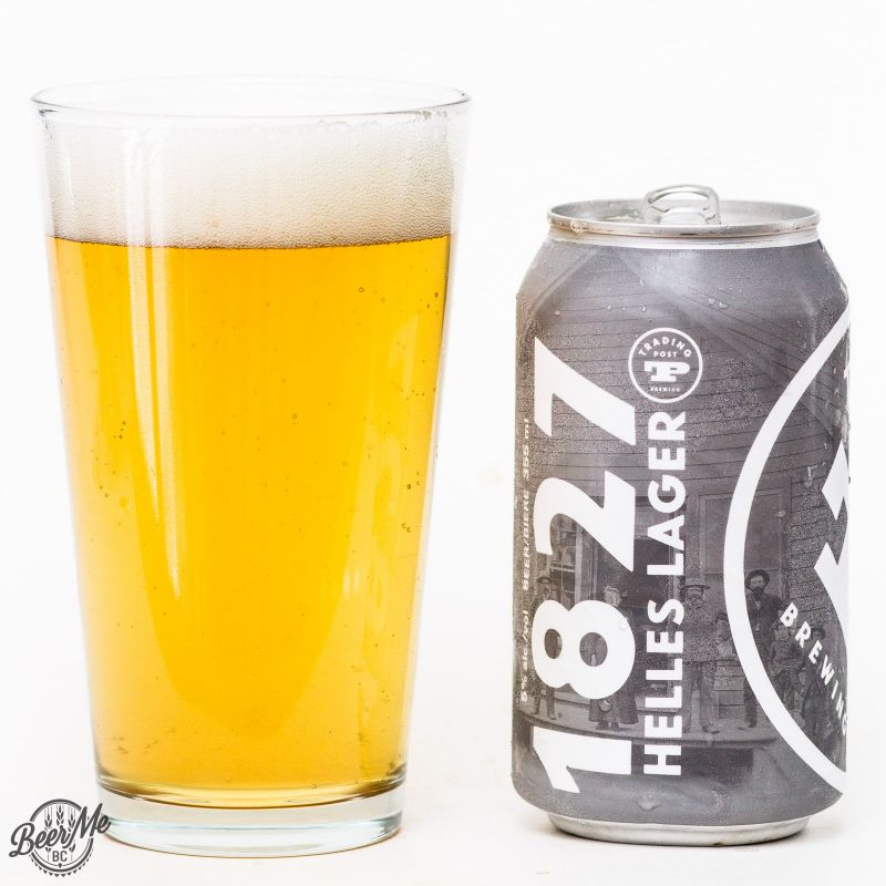 Trading Post Brewery 1827 Helles Lager Review