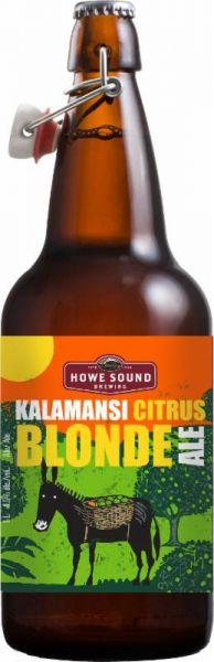 Howe Sound Kalamansi Citrus Blonde Ale