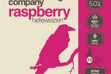 New Raspberry Hefeweizen From Ravens Brewing Co.