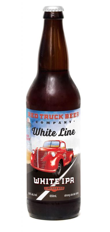 Red Truck White Line White IPA