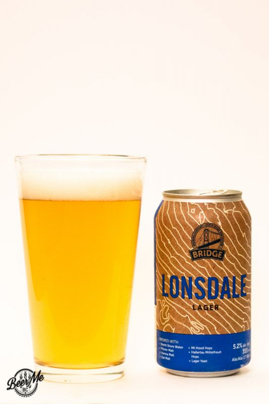 Bridge Brewing Lonsdale Lager
