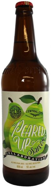 Central City Great Lakes Collaboration Peared Up Saison