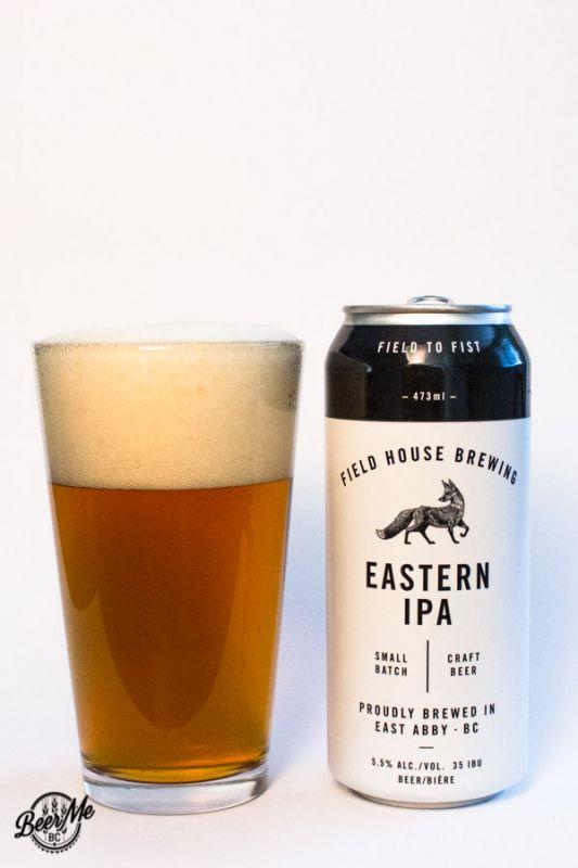 Fieldhouse Brewing Eastern IPA