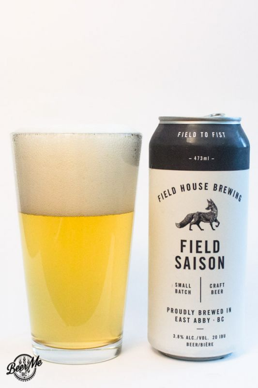 Fieldhouse Brewing Field Saison