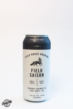 Fieldhouse Brewing Field Saison Can
