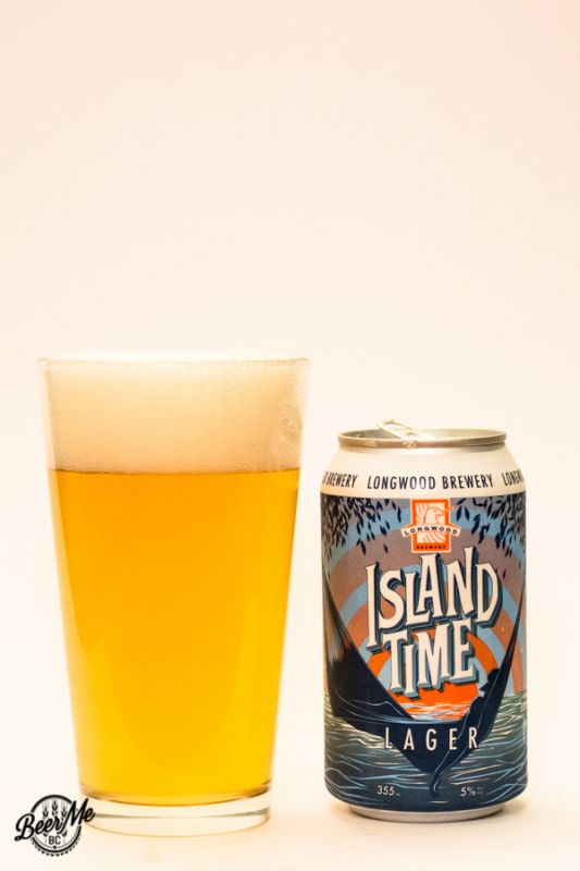 Longwood Brewery Island Time Lager
