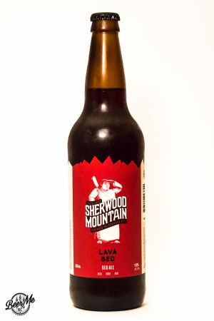 Sherwood Mountain Brewing Lava Bed Red Ale Bottle