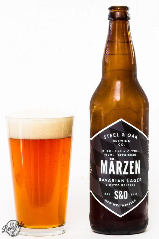 Steel & Oak Brewing Marzen Bavarian Lager Review