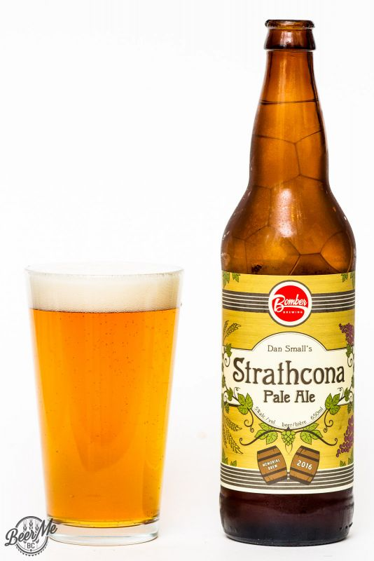 Bomber Brewing Dan Small Strathcona Pale Ale Review