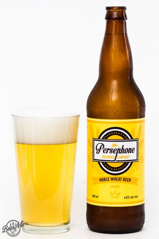 Persephone Brewing Noble Wheat Beer Review
