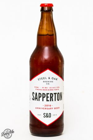 Steel & Oak Brewing Sapperton Anniversary Ale Review