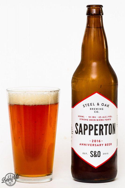 Steel & Oak Brewing Sapperton Anniversary Ale Review