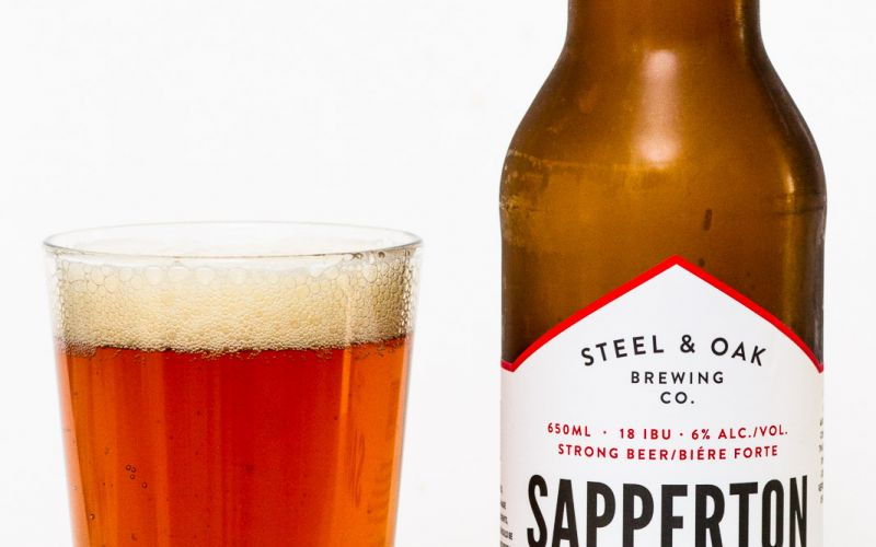 Steel & Oak Brewing Co. – Sapperton 2016 Anniversary Ale