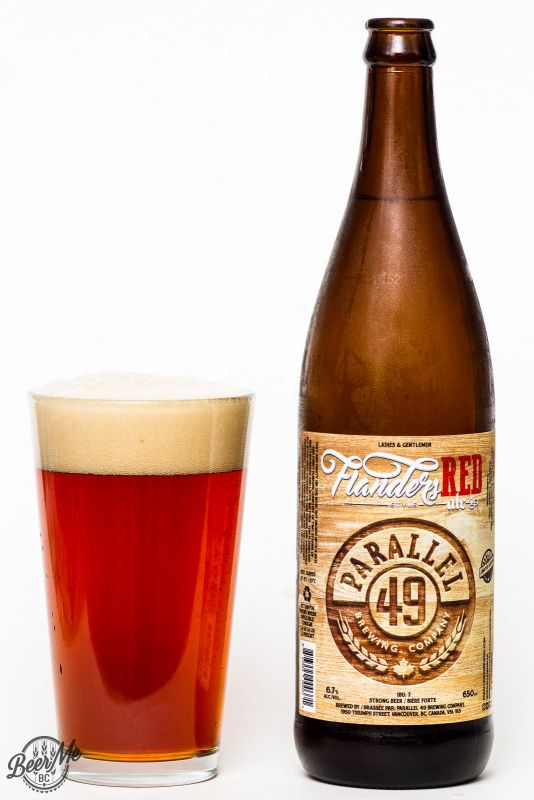 Parallel 49 Brewing 2016 Flanders Red Ale Review