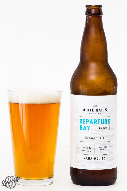 White Sails Brewing Departure Bay Session Ale Review