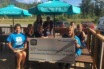 """Fernie Brewing Gives Back with """"Cheers To Charity"""" Donation Program"""