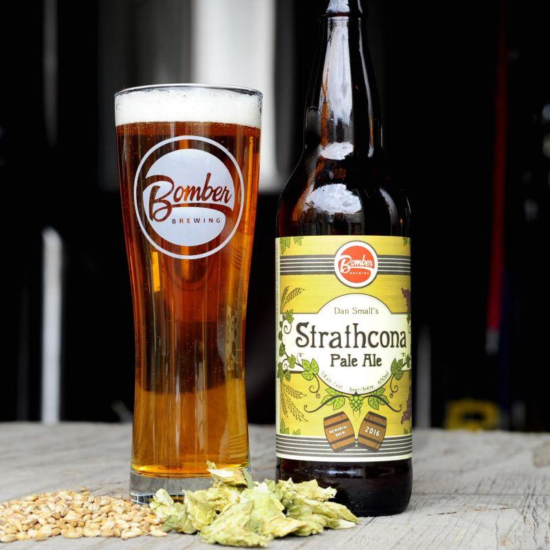 Bomber Dan Small's Strathcona Pale Ale