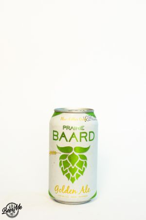 Bomber Brewing Pairie Baard Golden Ale Can